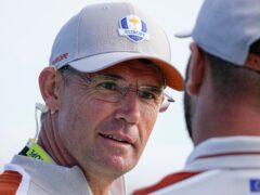 Padraig Harrington and Europe were well beaten (Jeff Roberson/AP)
