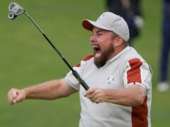 Shane Lowry is determined to be part of Europe's Ryder Cup team again in 2023 (Charlie Niebergall/AP)