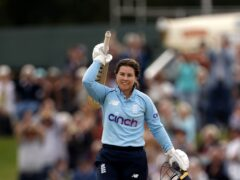 Tammy Beaumont hailed the 'special moment' after she struck a century for England (Steven Paston/PA)