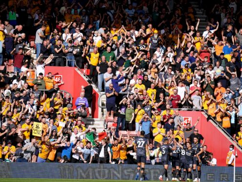 Raul Jimenez scored Wolves' winner to mark his first goal since suffering a fractured skull (Adam Davy/PA)