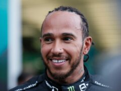 Lewis Hamilton claimed his 100th Formula One win (Yuri Kochetkov/Pool Photo via AP)