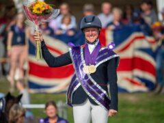 European eventing champion Nicola Wilson (British Equestrian/Jon Stroud)