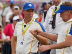 """Ian Poulter admitted he would be """"upset"""" to read criticism of Europe Ryder Cup captain Padraig Harrington (Charlie Neibergall/AP)"""