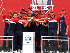 The United States regained the Ryder Cup with a record-breaking performance (Anthony Behar/PA)