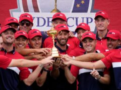 Europe suffered a crushing defeat in their defence of the 43rd Ryder Cup at Whistling Straits, losing by a record margin to a dominant United States side (Ashley Landis/AP)