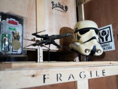 Star Wars memorabilia are among the items going under the hammer (Andrew Matthews/PA)