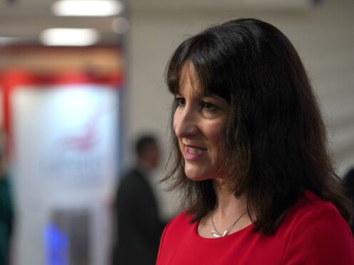 Shadow chancellor Rachel Reeves (Gareth Fuller/PA)