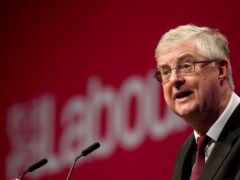 Mark Drakeford, First Minister of Wales, speaks at the Labour Party conference in Brighton (Gareth Fuller/PA)
