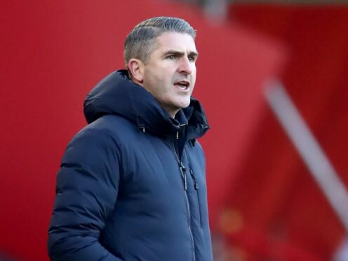 Ryan Lowe is pleased with his side's progress (Tim Goode/PA)