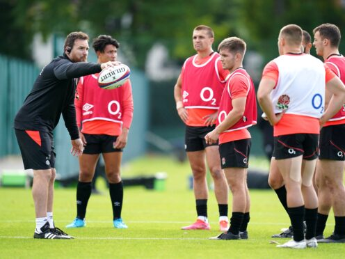 Martin Gleeson got to get across his ideas to the England players at The Lensbury this week (Andrew Matthews/PA)