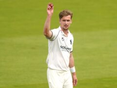 Craig Miles put Warwickshire on top at Lord's (Adam Davy/PA)