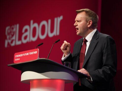 Nick Thomas-Symonds (Gareth Fuller/PA)