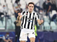 Federico Chiesa struck the winner for Juve (Fabrizio Carabelli/PA)
