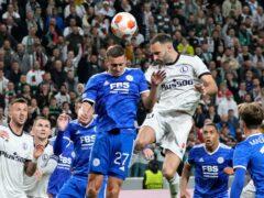 Legia beat Leicester 1-0 in Warsaw on Thursday. (Czarek Sokolowski/AP)