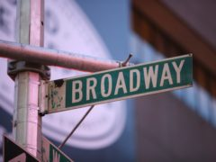 A signpost for Broadway in New York (Martin Keene/PA)
