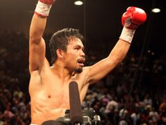 Manny Pacquiao has announced his retirement from boxing (Dave Thompson/PA)
