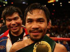 Manny Pacquiao (Dave Thompson/PA)
