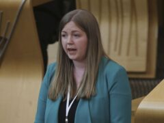 Scottish Green MSP Gillian Mackay branded the appointment of Malcolm Offord a 'disgrace' (Fraser Bremner/Scottish Daily Mail/PA)