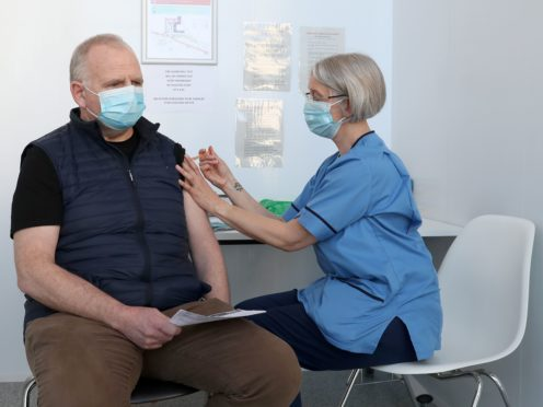 Booster vaccines are now being given to Scots aged 50 and above (Andrew Milligan/PA)