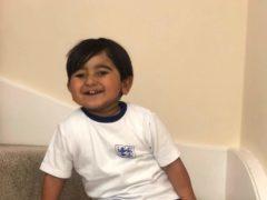 Two-year-old Harvey Kang (Karen Bahia/PA)