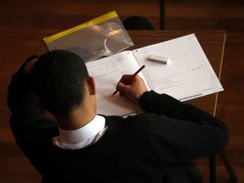 Opposition politicians raised concerns in the wake of new figures from the exams body (David Davies/PA)