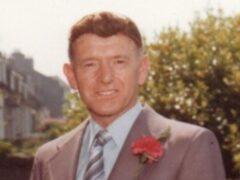 George Murdoch was murdered in 1983 (Police Scotland/PA)