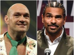 Could Tyson Fury and David Haye meet in the ring? (PA)