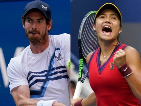 Andy Murray wants the LTA to capitalise on Emma Raducanu's US Open triumph (PA/AP)
