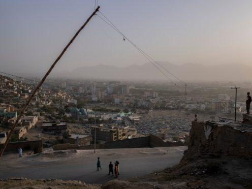 Sharif is hiding from the Taliban in Kabul (Bernat Armangue/AP)