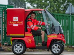 One of the electric vehicles which the Royal Mail could use (PA)
