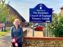 Bridget Harrison, headteacher of Rackham C of E Primary School in Witchford, Cambridgeshire (Rackham C of E Primary School/ PA)