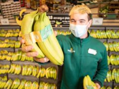Morrisons has banned plastic packaging from its bananas (Morrisons/PA)