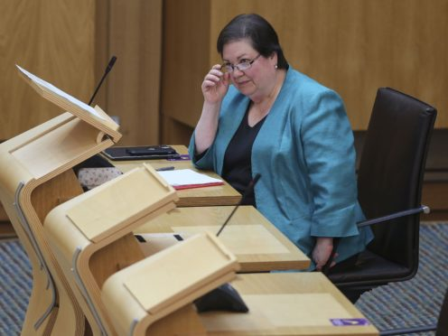 Labour deputy leader Jackie Baillie is demanding why the screening 'scandal' was not dealt with sooner (Fraser Bremner/Scottish Daily Mail/PA)