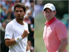 Tennis star Cameron Norrie and golfer Rory McIlroy scored big wins for the UK in the United States on Sunday (Steve Paston/Richard Sellers/PA)