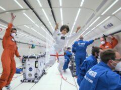 Barbie takes zero-gravity flight to inspire young girls (ESA/PA)