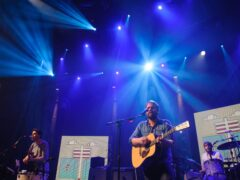 Frightened Rabbit perform at the iTunes Festival 2012 (Dominic Lipinksi/PA)
