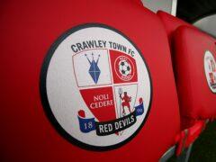 Crawley were beaten by Sutton (PA)