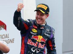 Red Bull Racing's Sebastian Vettel celebrates after victory in the Italian Grand Prix (David Davies/PA)