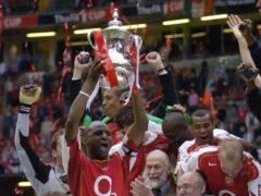 Patrick Vieira is an Arsenal great (Rebecca Naden/PA)