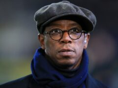 Former Arsenal and England striker Ian Wright is the first in three generations of footballers in his family (Mike Egerton/PA)