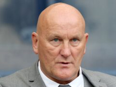 Ayr manager Jim Duffy saw his side well beaten at Firhill (Jane Barlow/PA)