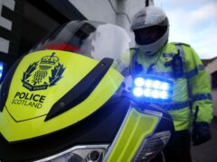The incident occurred in Girvan, South Ayrshire, on Friday morning (PA)