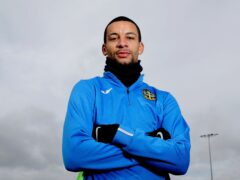 Craig Eastmond is a doubt for the match against Swindon (PA)