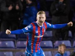 Billy McKay scored the opener for Inverness (Jeff Holmes/PA)