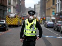The man was attacked in Hope Street in Glasgow city centre (Jane Barlow/PA)