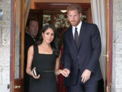 The Duke and Duchess of Sussex (Brian Lawless/PA)