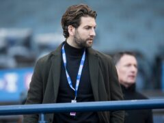 Charlie Mulgrew is back for Dundee United (Jeff Holmes/PA)