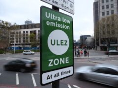 London's pollution charge zone for older vehicles has been significantly expanded, affecting tens of thousands of motorists (Yui Mok/PA)