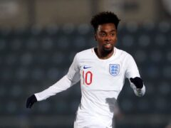 Angel Gomes has been handed his first England Under-21 call up. (Mike Egerton/PA)