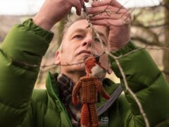 Chris Packham is calling for the royal family to re-wild their estates (Antonia Mixie Salter/PA)